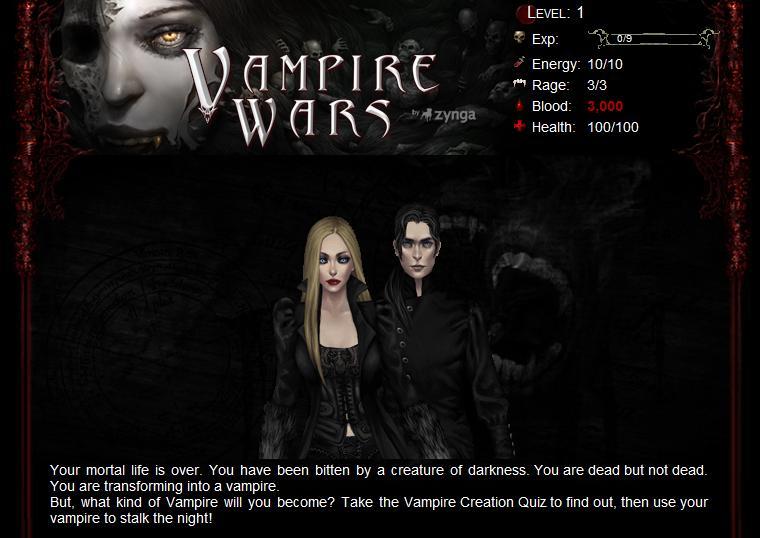 Jogo De Vampiros No Facebook  Sucker For Vampires