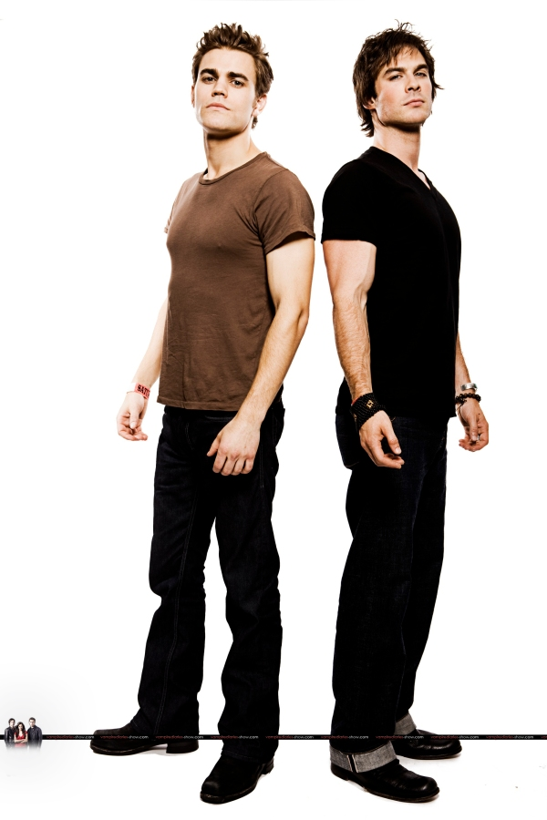 Stefan e Damon brothers 2
