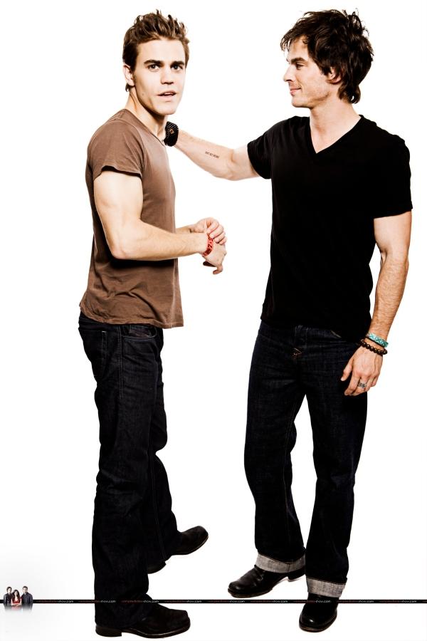 Stefan e Damon brothers