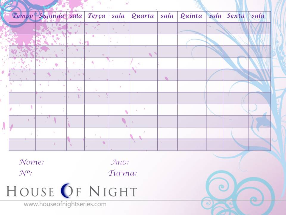 Fotinhos House of Night Horario-escolar-hon-2
