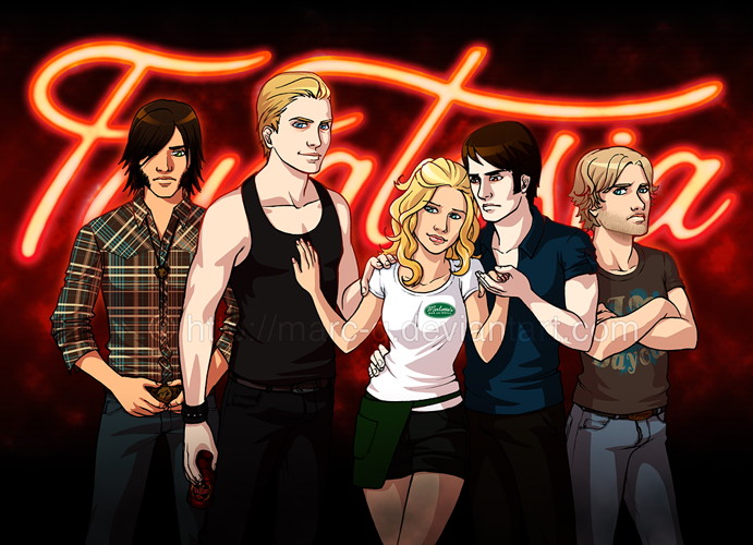 true blood eric and bill. true blood bill eric. from