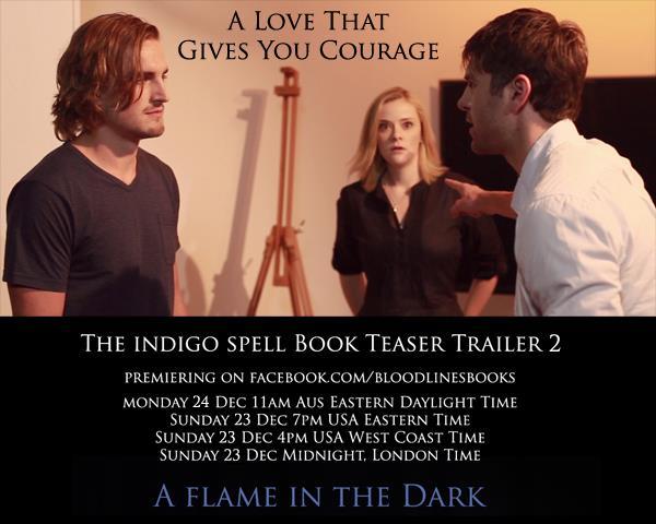 Teaser do trailer 2 The Indigo Spell