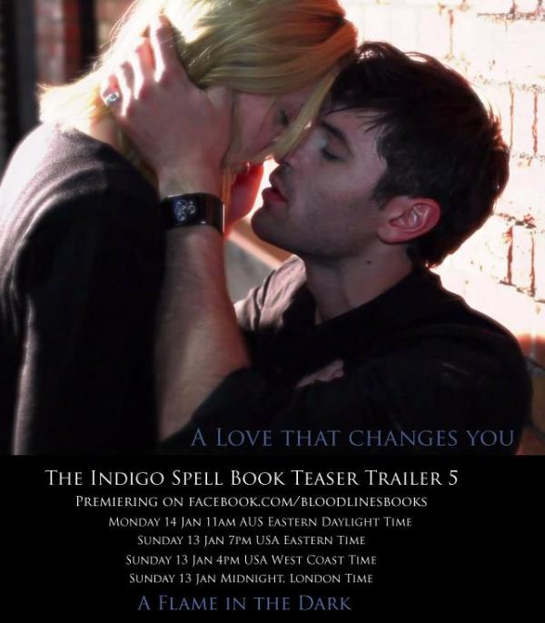 The Indigo Spell kiss